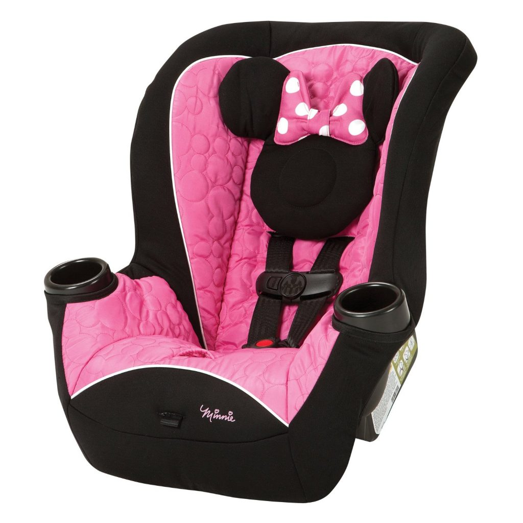 Disney APT Mouseketeer Minnie Convertible Car Seat