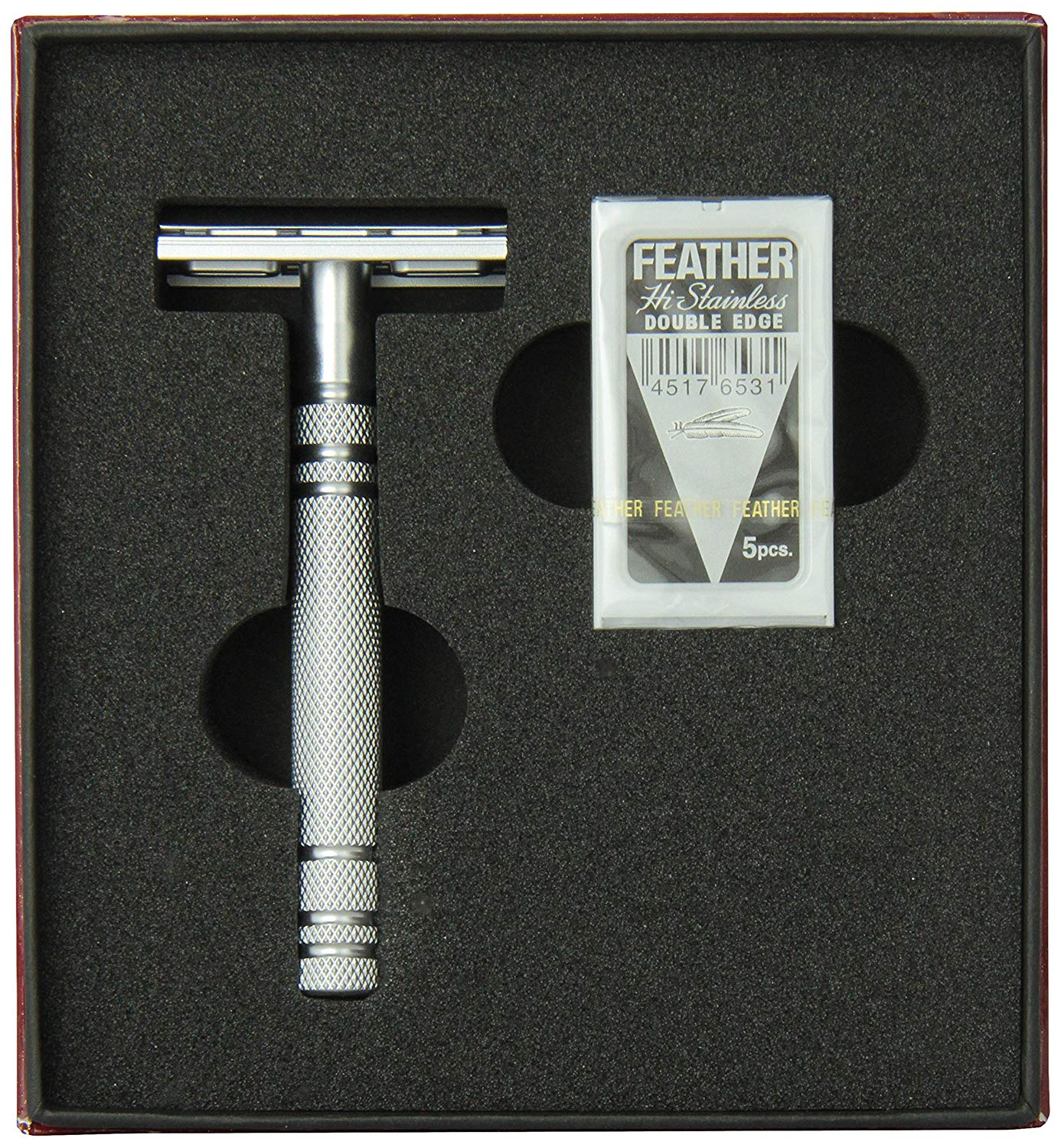 Feather AS-D2 Double Edge Safety Razor