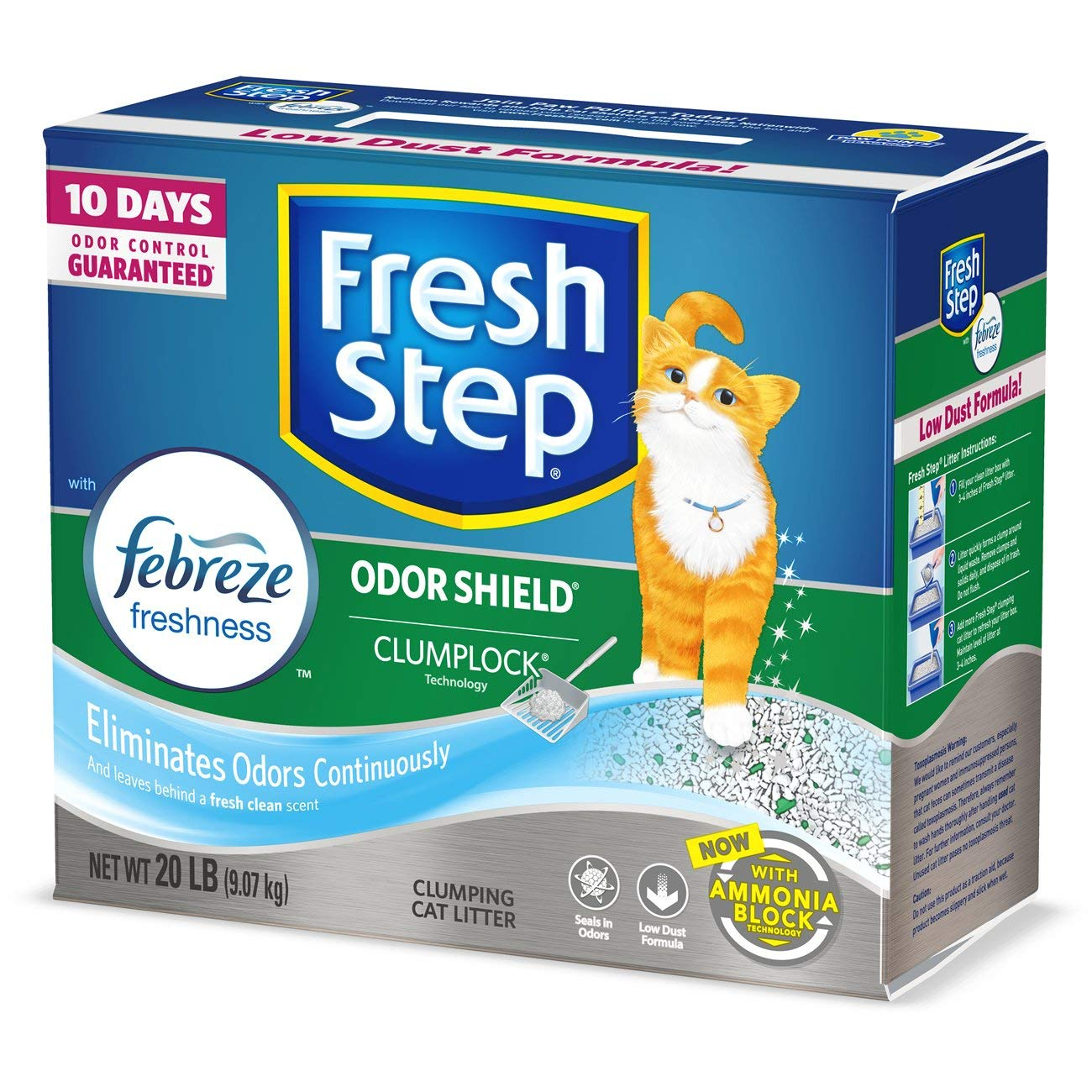 Fresh Step with Febreze Freshness Cat Litter
