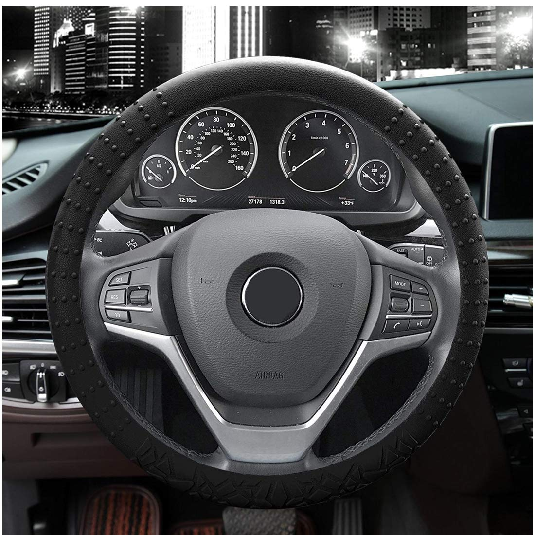 JYPC Silicone Steering Wheel Cover