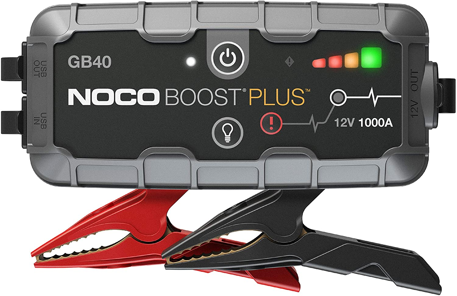 NOCO GB40 100 Amp Boost Plus 12-Volt Portable Lithium Jump Starter