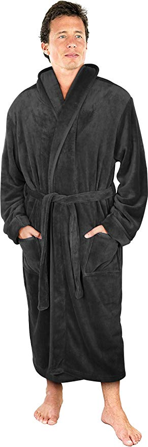 NY Threads Men's Bathrobe