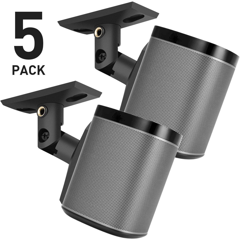 PERLESMITH 5 Pack Speaker Mounts