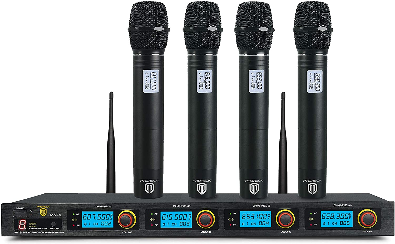 PRORECK MX44 Wireless Microphone