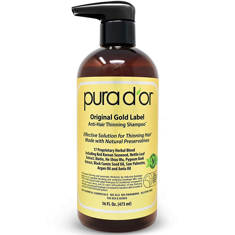 PURA D'OR Anti-Thinning Shampoo
