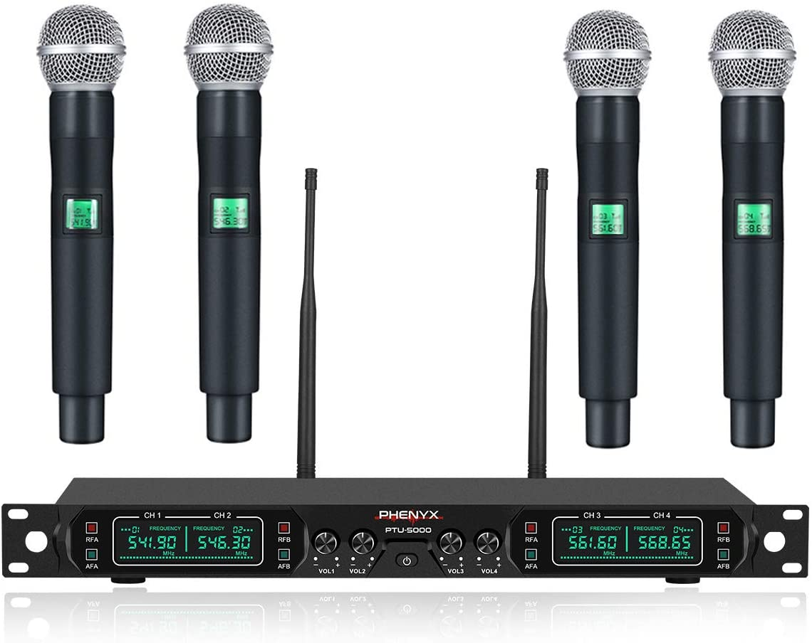 Phenyx Pro PTU-5000A Professional Wireless Microphone