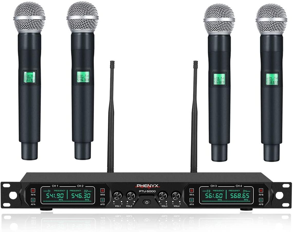 Phenyx Pro PTU-5000A Professional Wireless Microphone