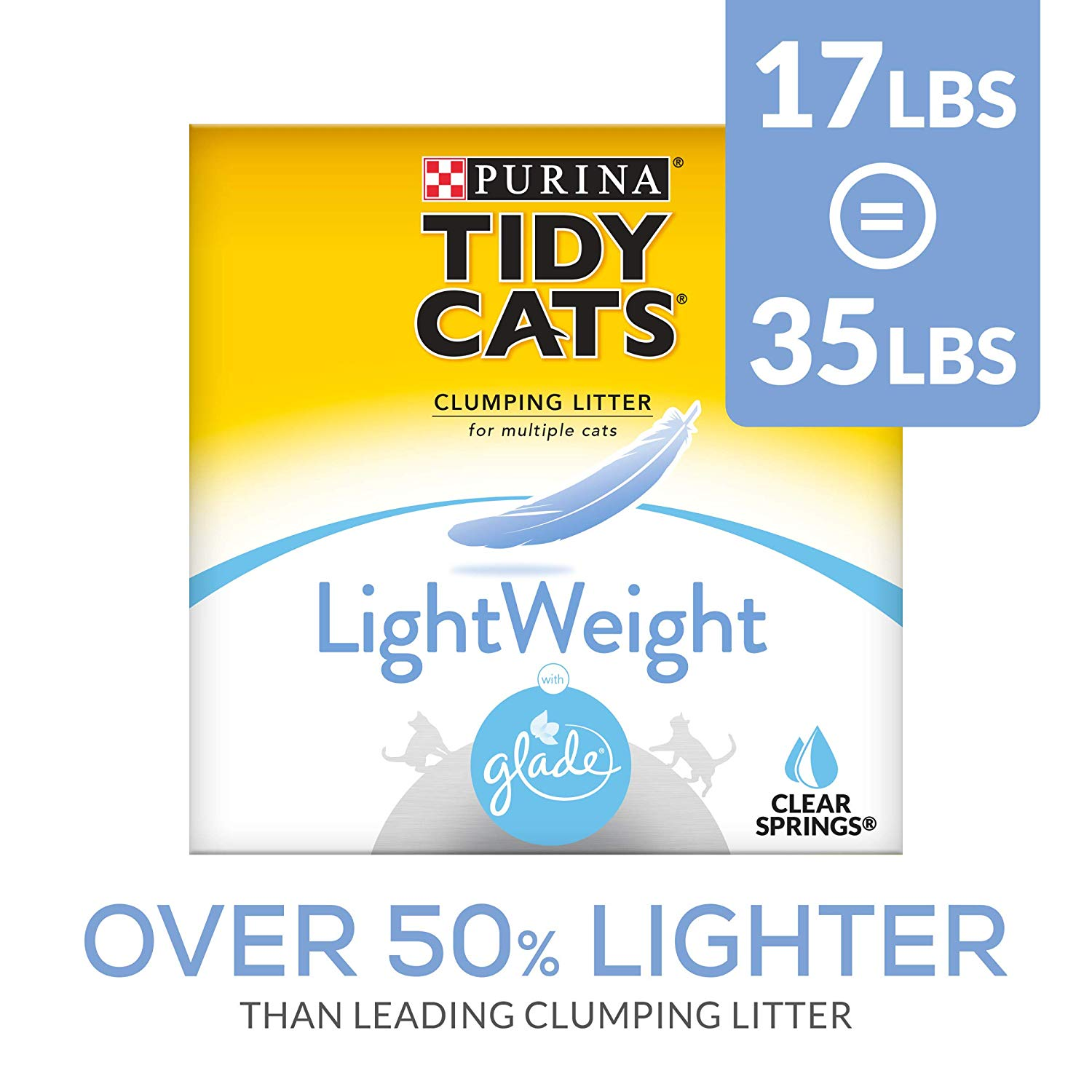 Purina Tidy Cats Clumping Cat Litter (Lightweight Glade)
