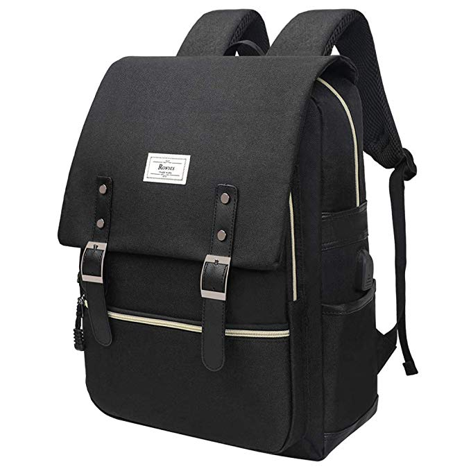 RONYES Unisex College Backpack