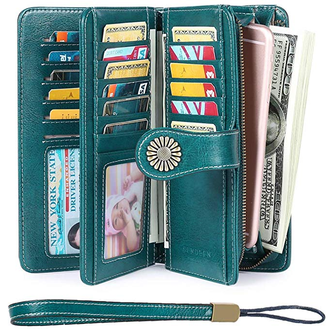 SENDEFN Leather Wallet