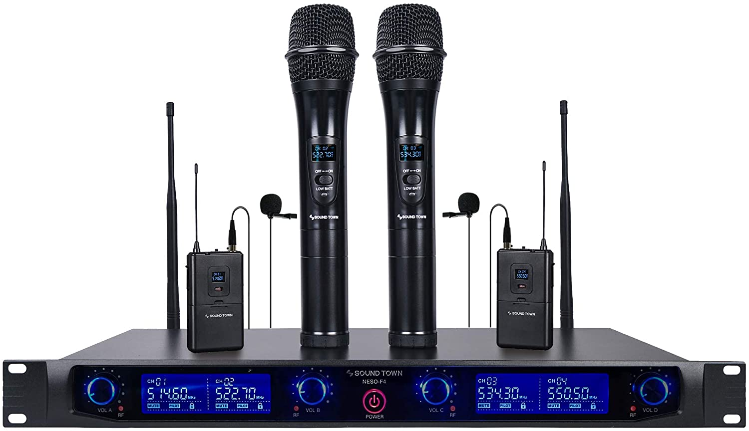 Sound Town Professional Wireless Microphone