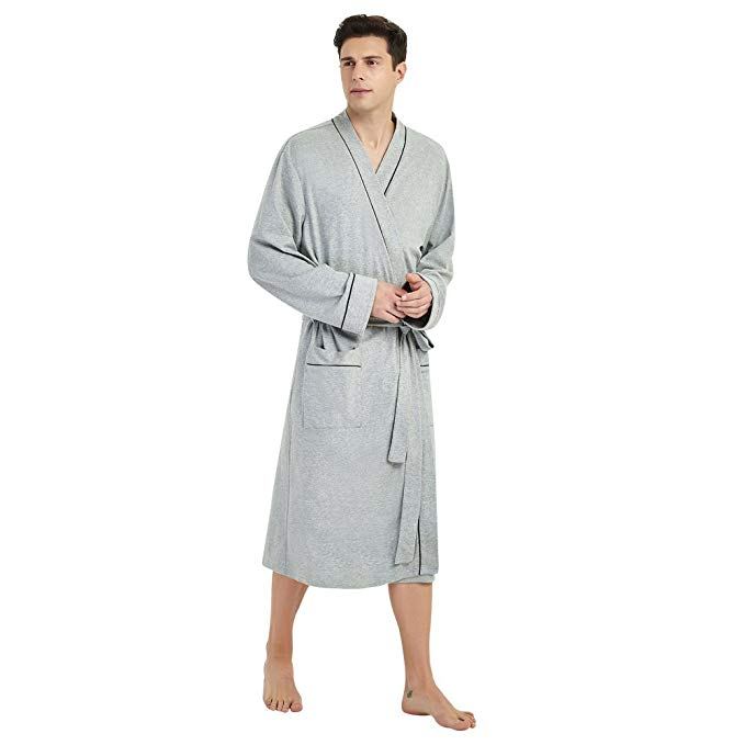 U2SKIIN Men's Bathrobe
