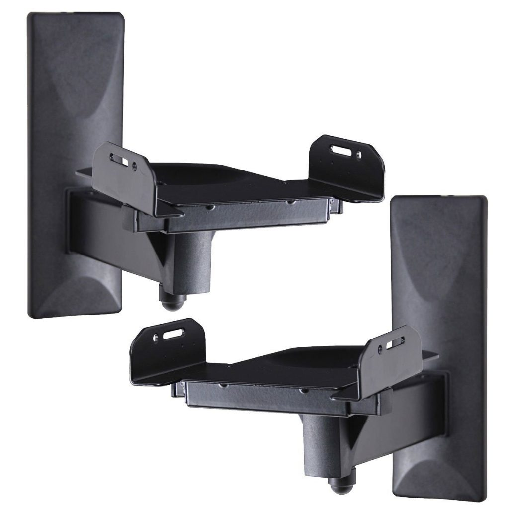 VideoSecu Side Clamping Speaker Mounting Bracket