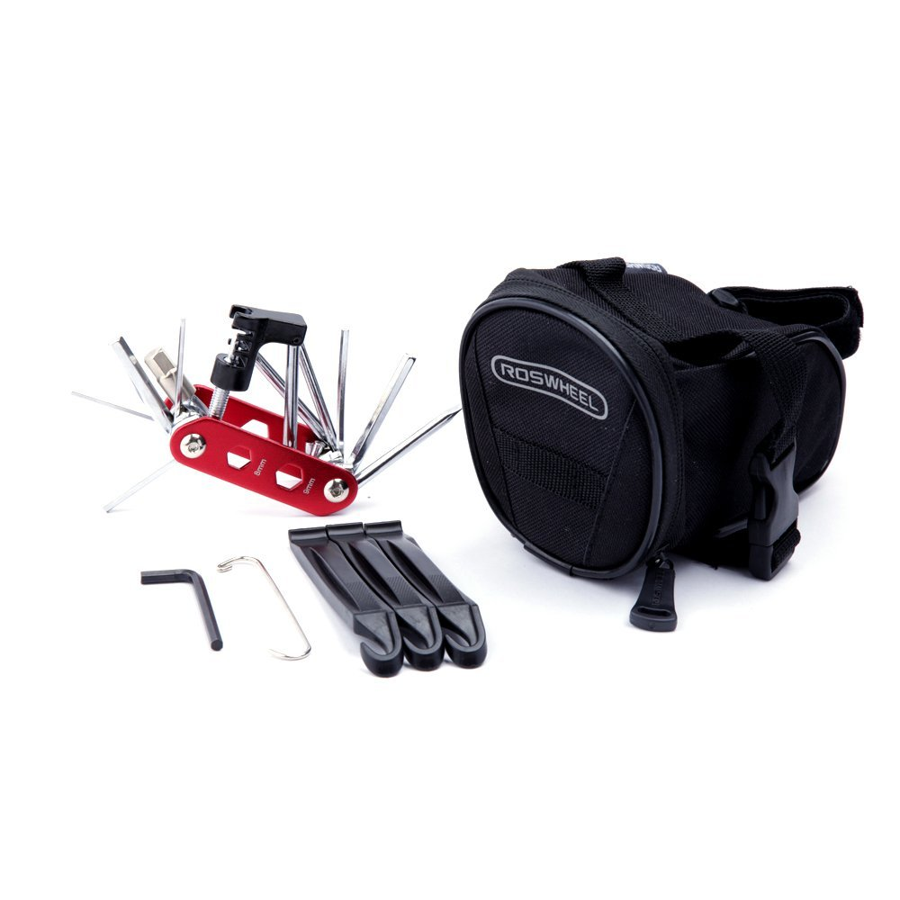 WOTOW Bicycle Repair Set Red