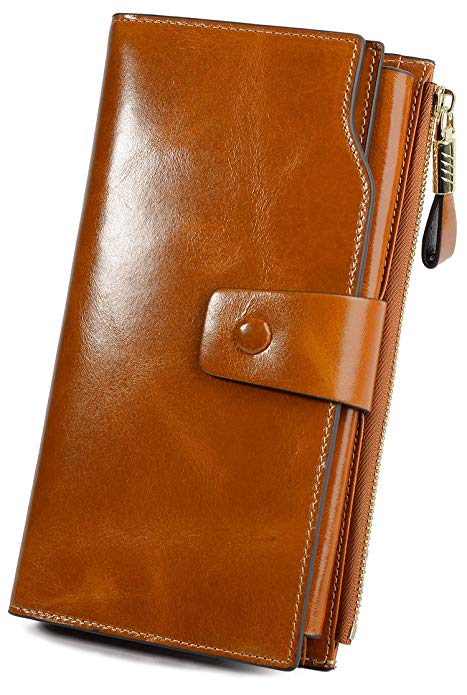 YALUXE Genuine Leather Wallet