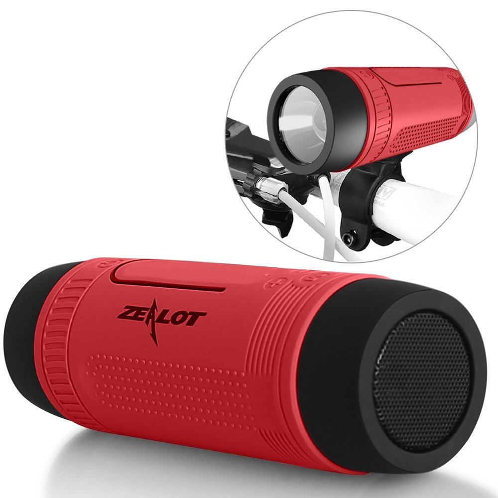 Zealot Bluetooth Bicycle Speaker, Waterproof