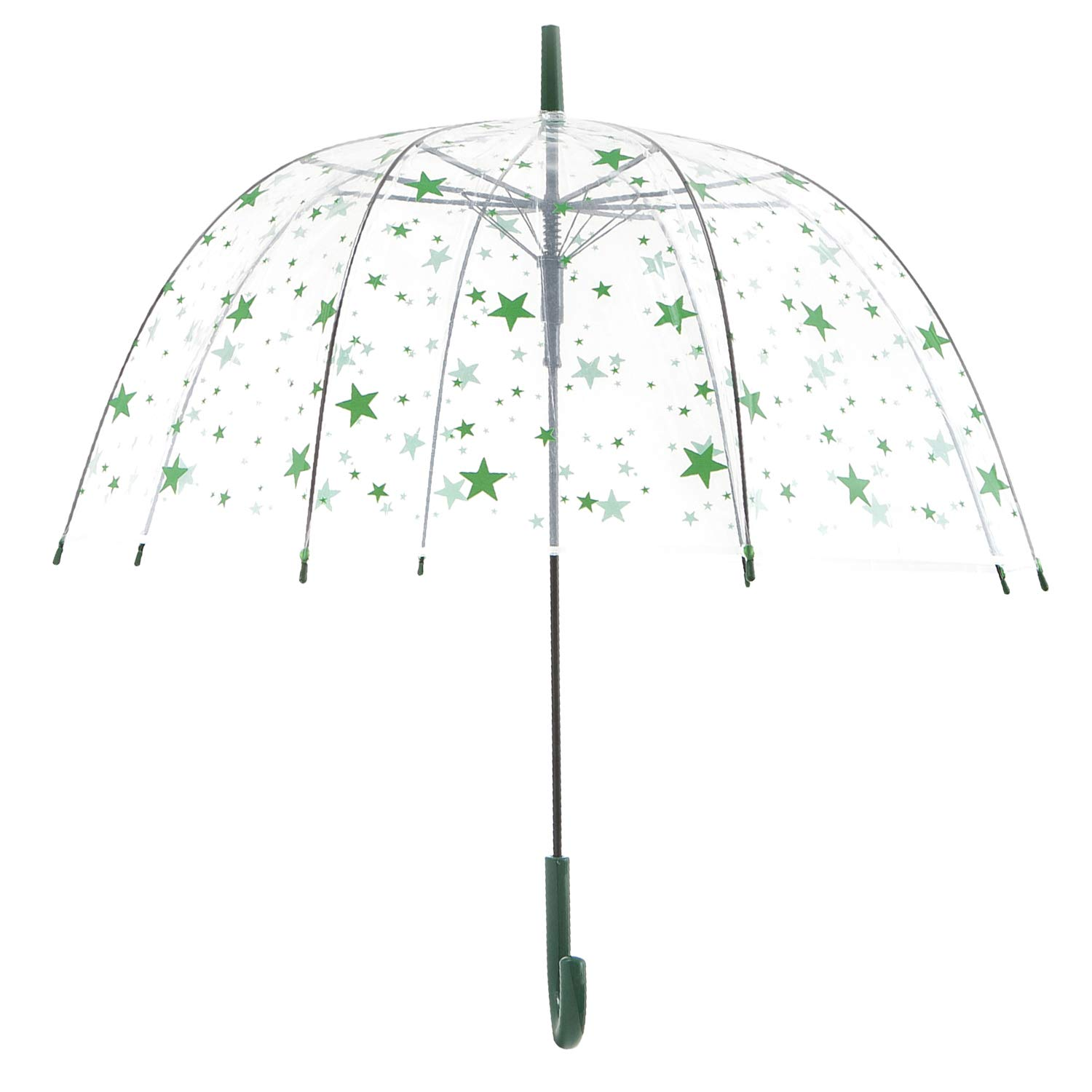 Artiron Star Fashion Dome Clear Bubble Umbrella