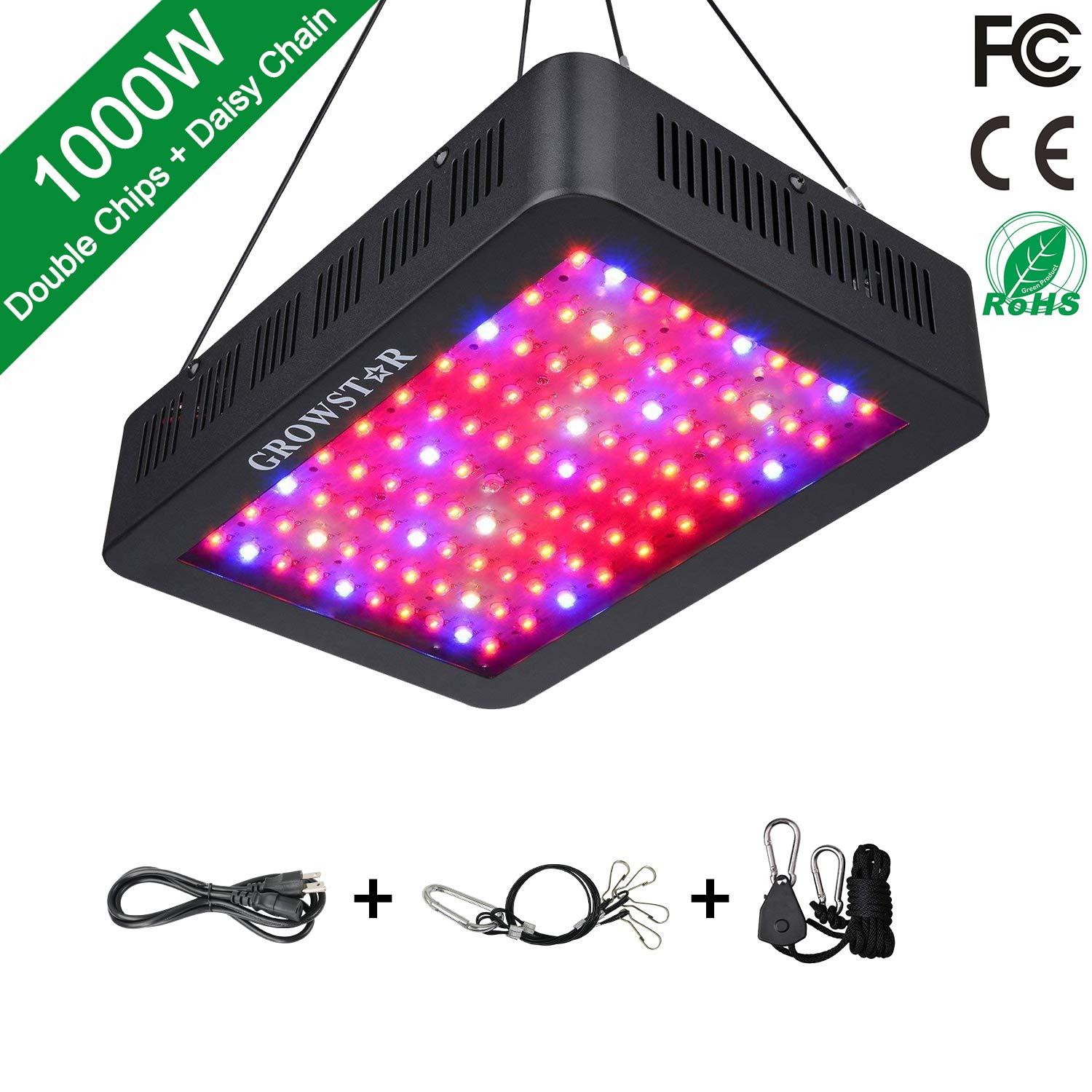 Growstar Double Chips LED Grow Lamp