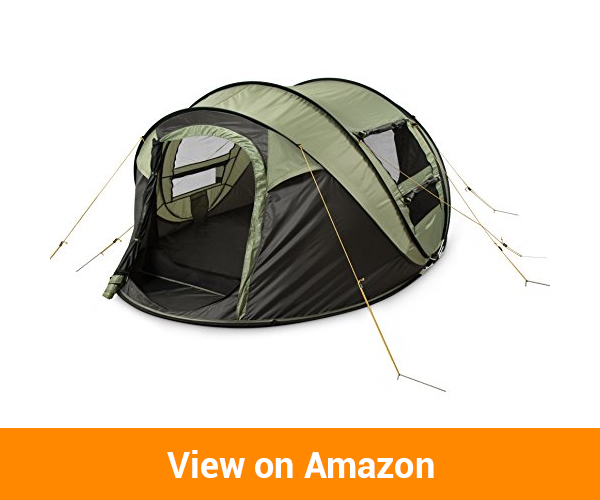 FiveJoy Instant Pop-Up Dome Tent (2 - 4 Person)