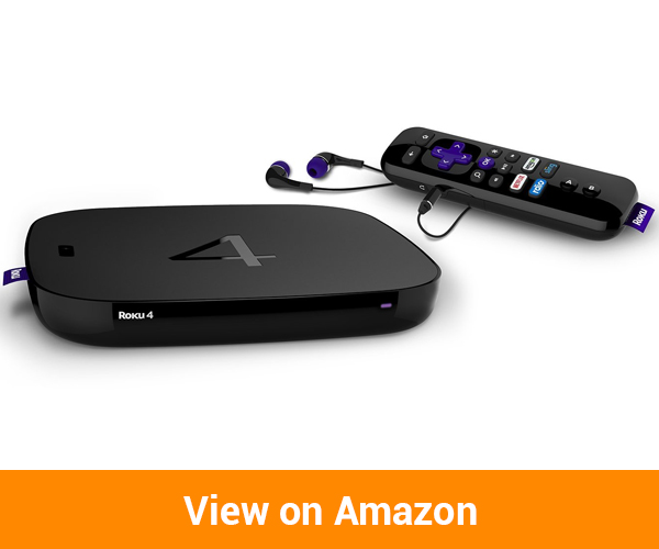 Roku 4 Streaming Media Player