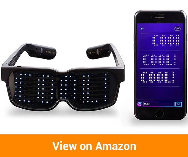 CHEMION - Unique Bluetooth LED Glasses