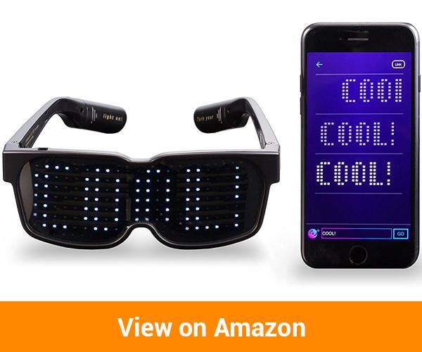 CHEMION - Unique Bluetooth LED Glasses