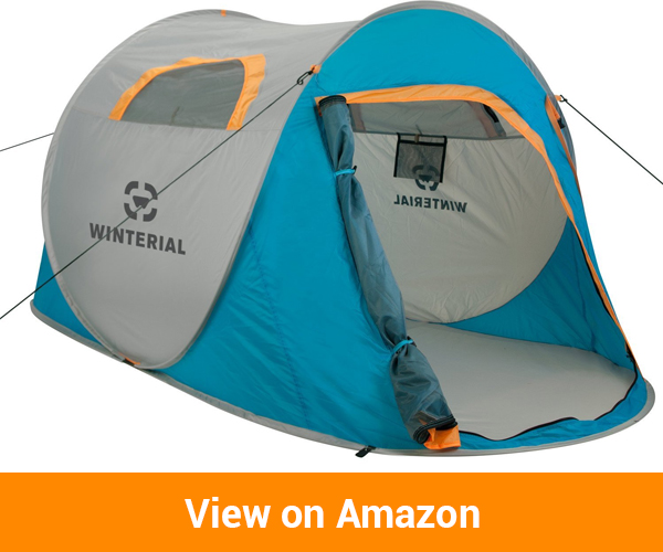 Winterial 2 Person Instant Pop Up Tent