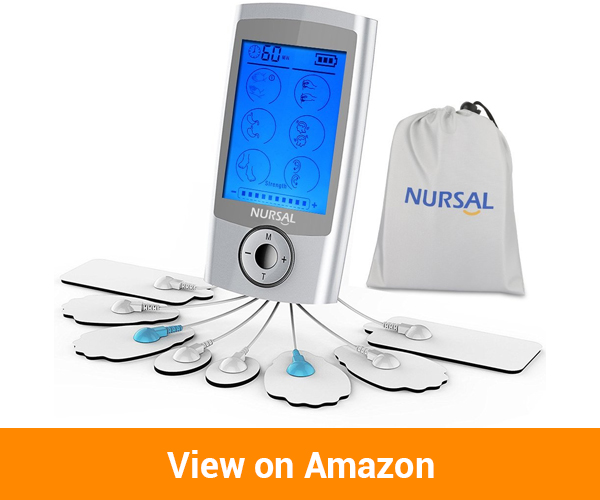 NURSAL TENS Electronic Pain Relief Massager Unit