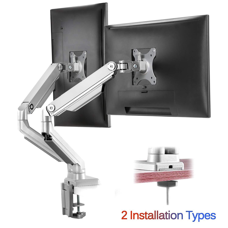 IMtKotW Dual Arm Monitor Stand
