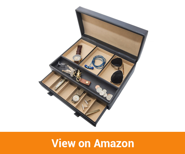 Beautify Leather Jewelry Box/Travel case