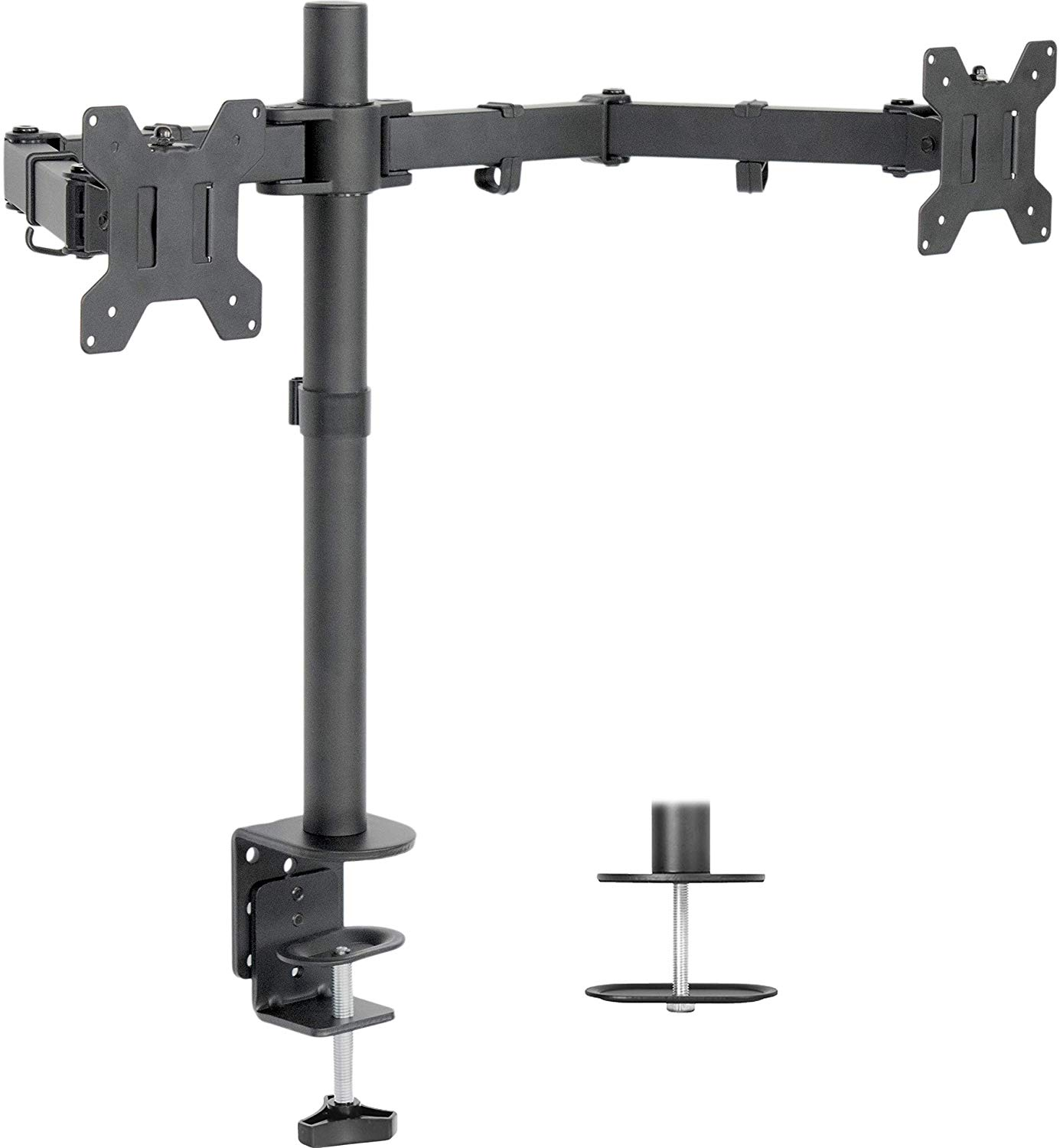 VIVO Dual LCD Monitor Desk Mount
