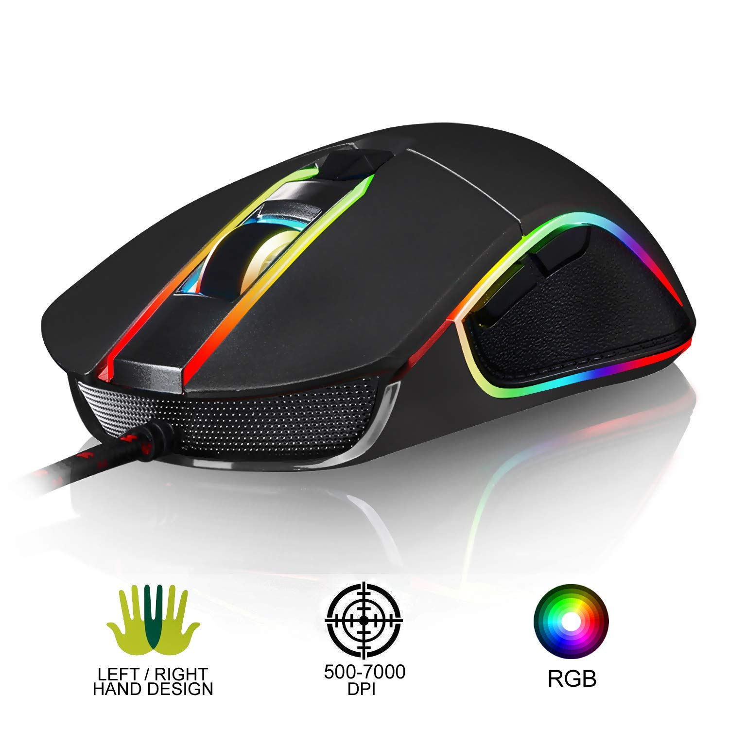 KLIM AIM (Best affordable ambidextrous gaming mouse)