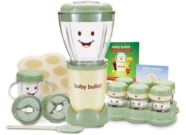 Baby bullet blender and food processor