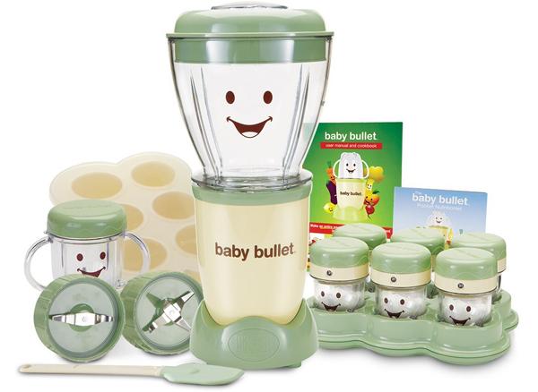 Baby bullet blender and food processor