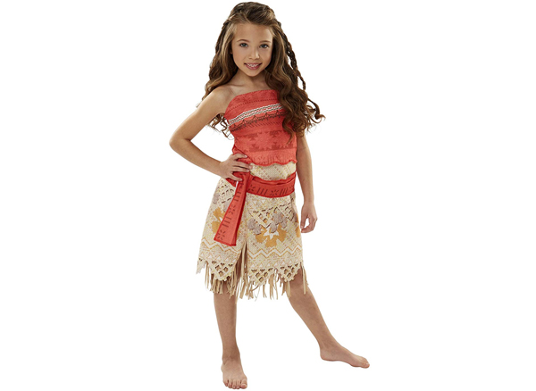Dress up like Moana