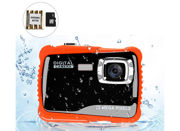 Ovbrn Waterproof Digital Camera