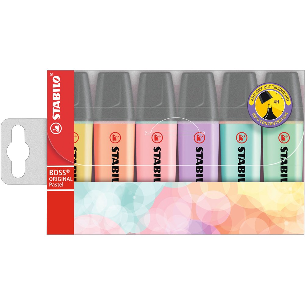 Stabilo BOSS Original Highlighter Pastels