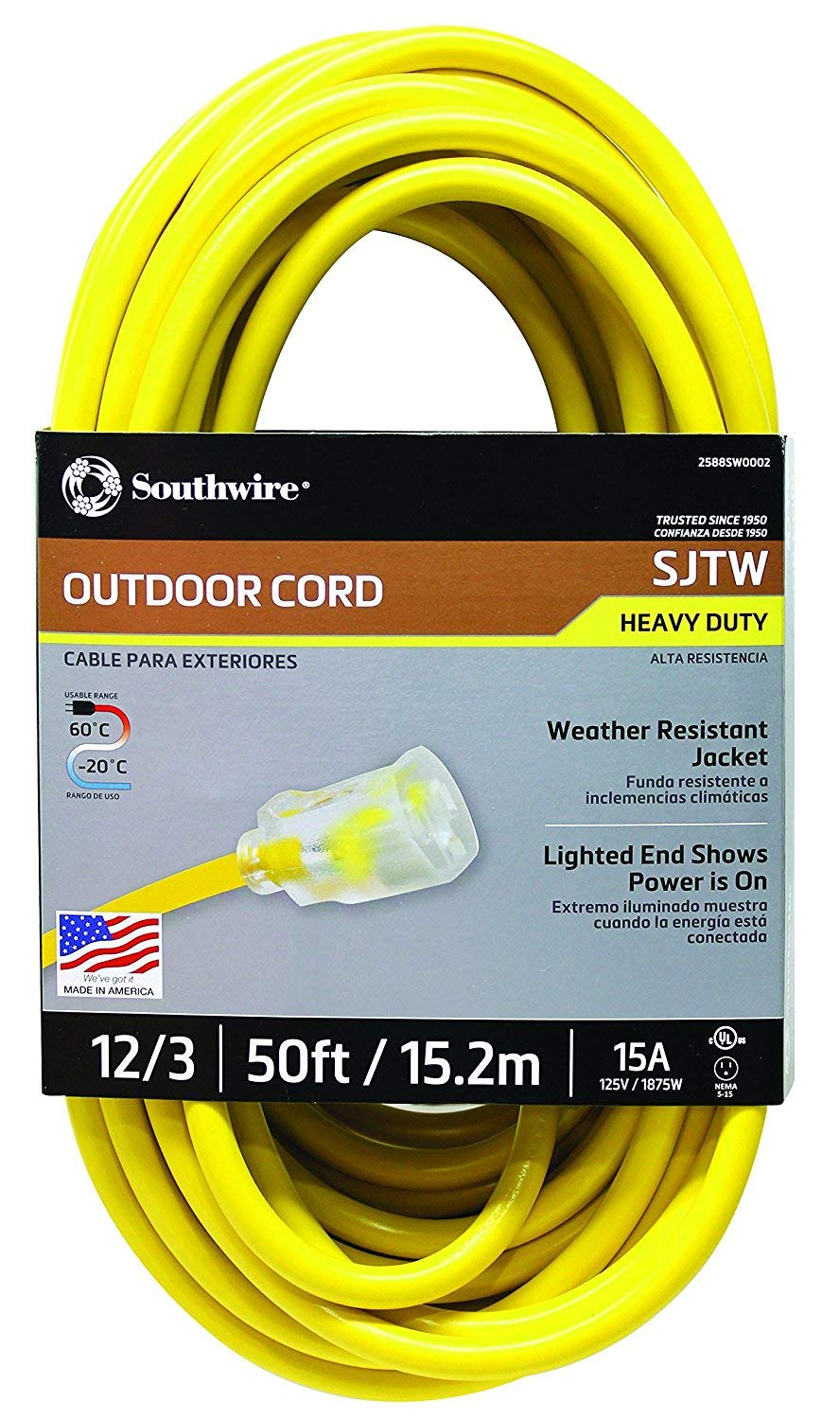 Southwire 2588SW0002 Outdoor Extension Cord