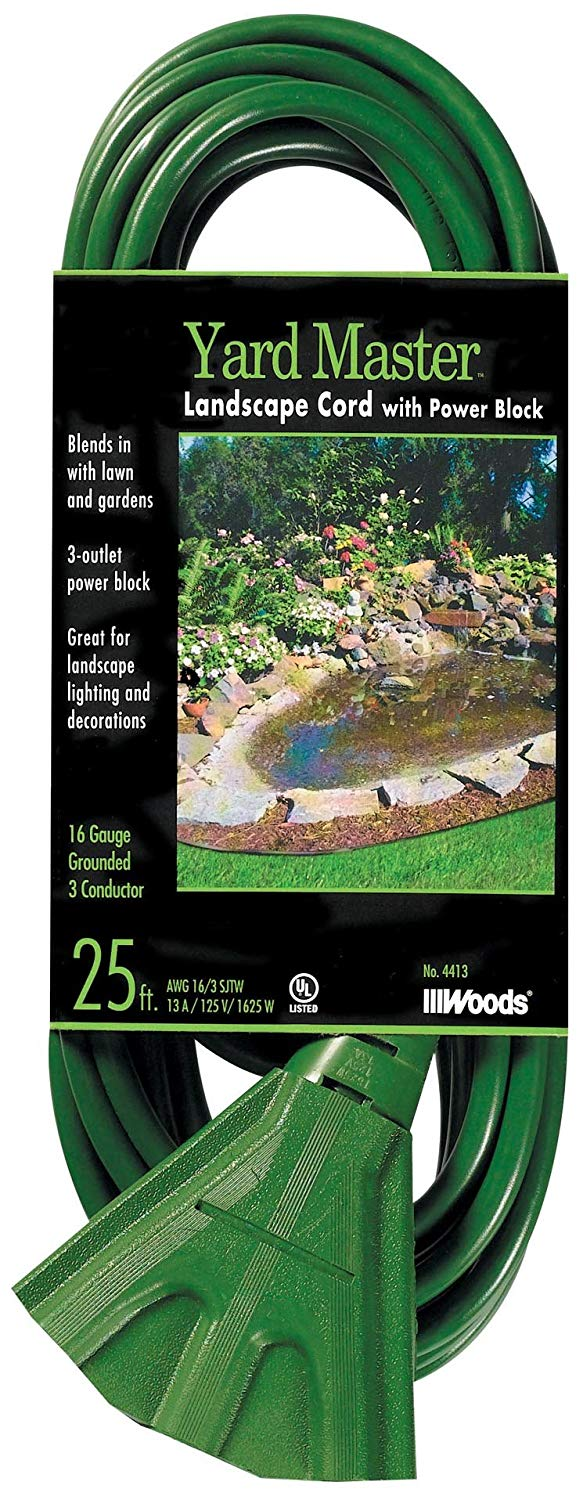 Woods 984413 25-Foot Extension Cord