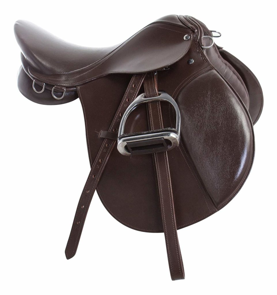 Acerugs Premium Brown Leather English saddle